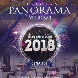 Panorama Slavija – Doček Nove godine 2018