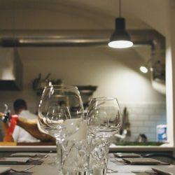 Izgled kuhinje u restoranu