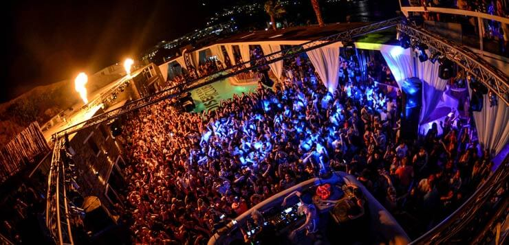 klub paradise mykonos