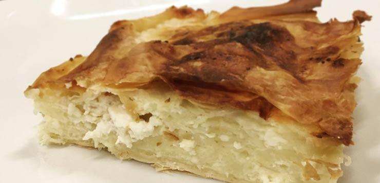 srpska tradicionalna jela gibanica